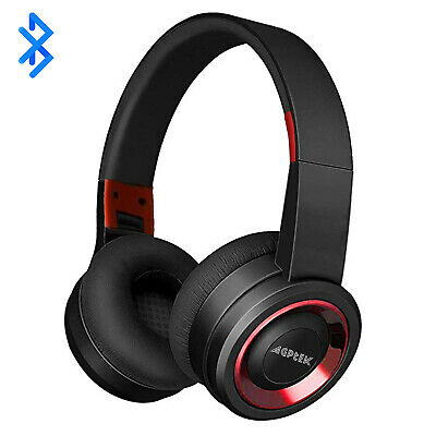 Bluetooth Wireless Headphones Over Ear Headset Noise Cancelling With Microphone