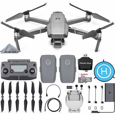 DJI Mavic 2 Pro Drone w/ Hasselblad Camera + Extra Battery + Starter Bundle Kit