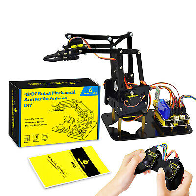 Keyestudio 4dof Programming Robot Robotics Arm Starter Kit For Arduino Project