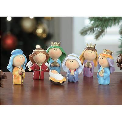 Holiday Time Christmas Decor 7-Piece Youth Nativity Set