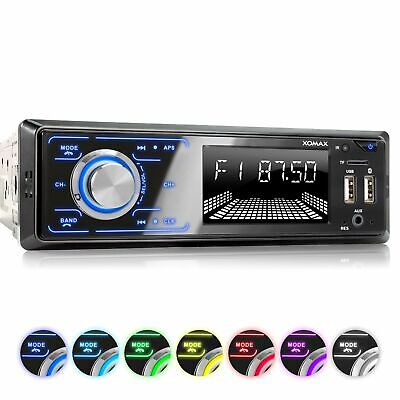 AUTORADIO RDS AM/FM BLUETOOTH FREISPRECHEINRICHTUNG 2 X USB SD AUX-IN MP3