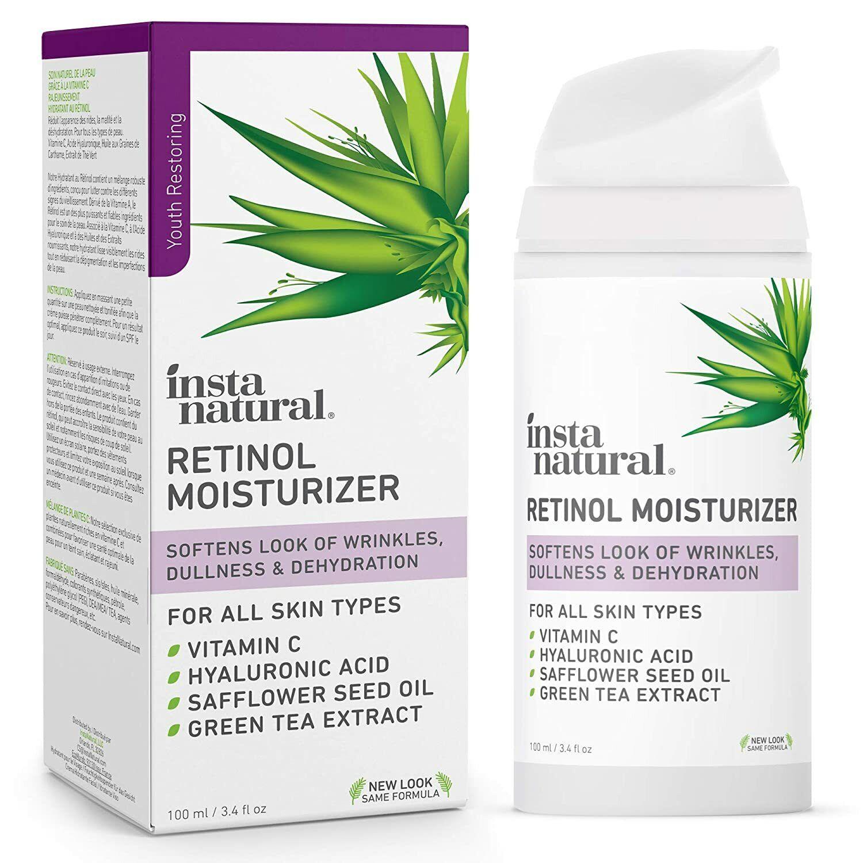 Retinol Moisturizer Anti Aging Cream - Anti Wrinkle Lotion -