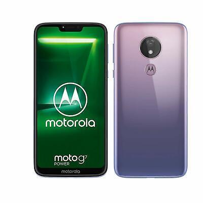 """Motorola Moto G7 POWER DS (32 or 64GB+3/4GB) XT1955-2 6.2"""" FHD+ Display Dual SIM"""