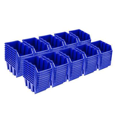 Set 100 X Cajas de Pila NP4 Azul Cajas de Almacenamiento Tipo...