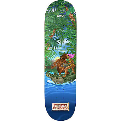 """Baker Theotis Beasley Jungle Skateboard Deck - 8.0"""""""