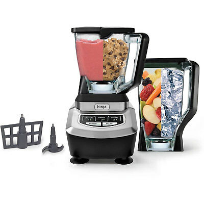 Ninja 1100 Watt XL Thoroughgoing Crushing Food Processor Blender (Certified Refurbished)