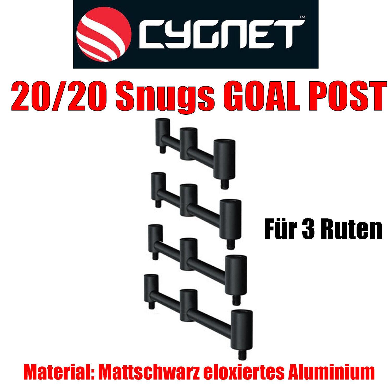 Cygnet 20/20 Snugs 3 Rod GOAL POST Buzzer Bar Buzzerbar alle Größen