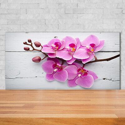 Leinwandbild Kunst-Druck 100x70 Bilder Blumen /& Pflanzen Orchidee Herz