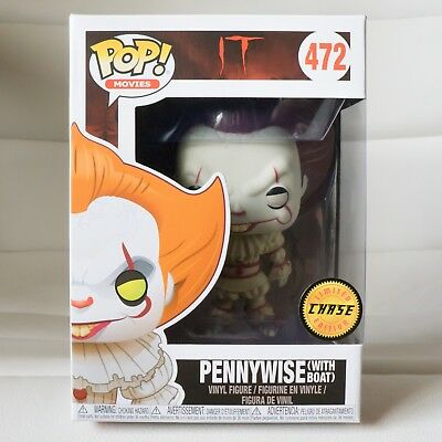 Pennywise with Boat It Pop #472 Chase Variant Limited Edition Vaulted!