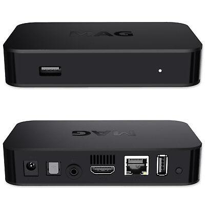 MAG 322 IPTV HEVC H.265 Streamer IPTV Multimedia Internet TV IP HD Receiver Box