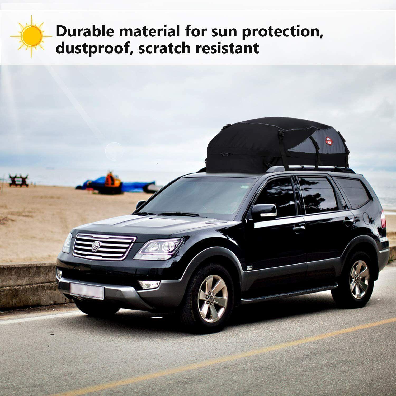 580L Auto Dachtasche Wasserdicht Dachkoffer Faltbare Gepäckbox Extrem Starke