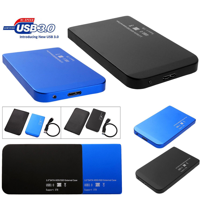 2.5in USB 3.0/2.0 SATA SSD HDD Hard Drive Disk Dock Enclosur