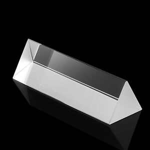 Neewer 6cm Dreiecksprisma Physik Prismen Tripelprisma Glasprisma
