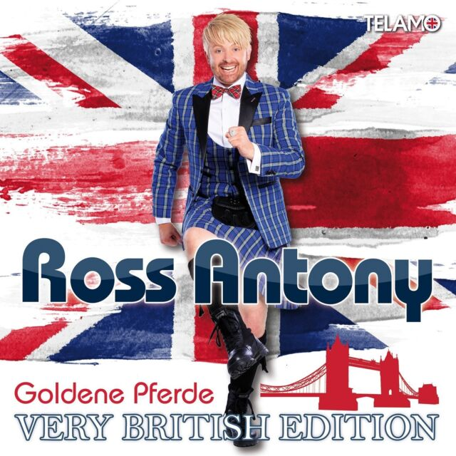 ROSS ANTONY - GOLDENE PFERDE-VERY BRITISH EDITION 2 CD NEU