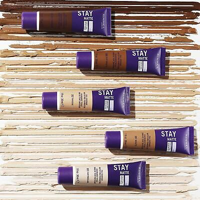 {1} NEW! Rimmel London Stay Matte Liquid Mousse Foundation, Choose Your Color