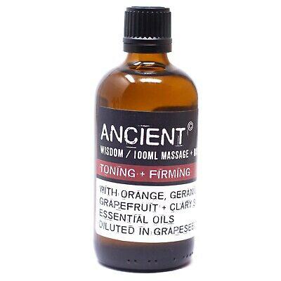 Festigendes & Straffendes Massageöl 100ml - Ätherische Öle - ANCIENT WISDOM