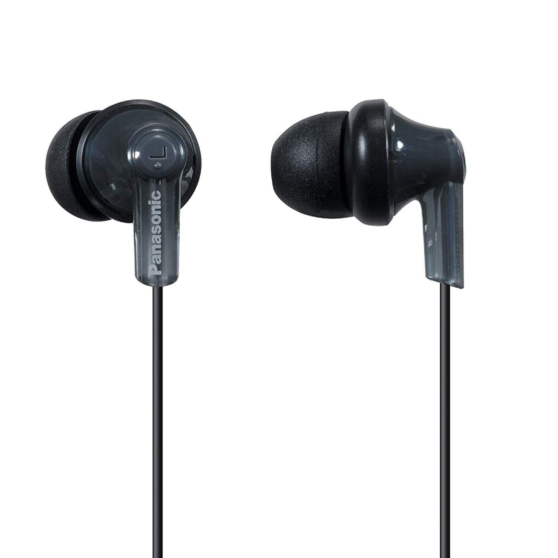 Panasonic ErgoFit In-Ear Earbud Headphones RP-HJE120-K  Dyna