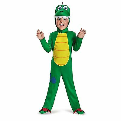 CLASSIC DINOSAUR CHILD HALLOWEEN COSTUME TODDLER SIZE MEDIUM 3T-4T (Dinosaur Costume 3t)