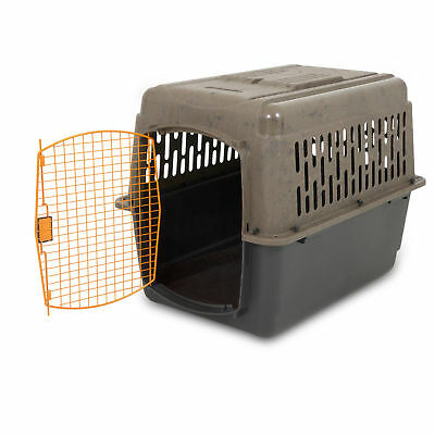 """XL Dog Crate Cage 50-70 lb Large Travel Plastic Airline Approved Pet Kennel 36"""""""