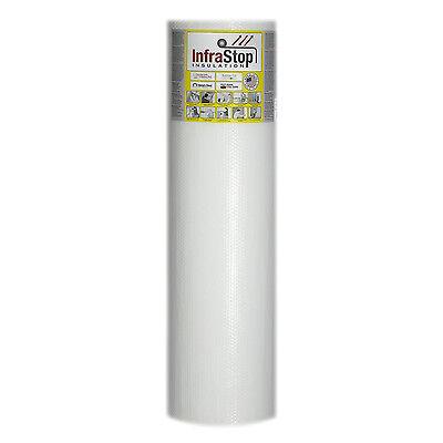 Infrastop 48 X 50 Single Bubble White Reflective Foil Insulation