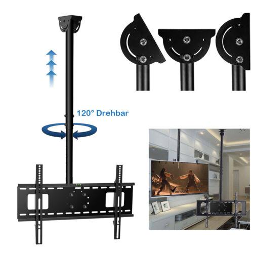 TILT SWIVEL ROTATE CEILING TV MOUNT BRACKET LCD PLASMA 32 36 37 40 50 55 60 70