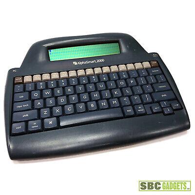 Alphasmart 2000 Personal Portable Word Processor Keyboard - Free Shipping