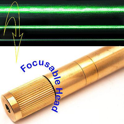 Focusable 532nm 50mw Green Laser Line Moduleadjustable Beam Sizegreen Laser
