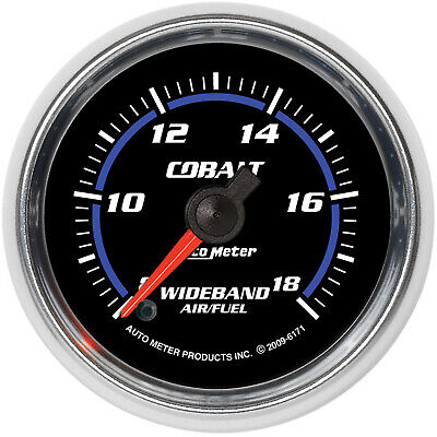 Autometer 6171 GAUGE, AIR/FUEL RATIO-WIDEBAND, ANALOG, 2 1/16
