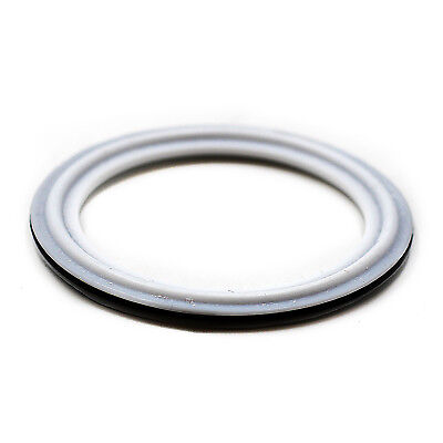 Hfsr 1.5 Viton With Ptfe Coved Gasket Fits Sanitary Tri Clamp Type Ferrule