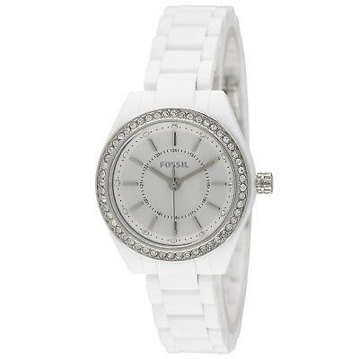 Fossil Uhr Damen Weiß