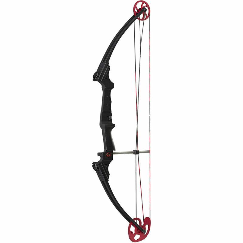 Genesis Archery Universal Black Compound Practice Bow, Left Handed (Open Box)