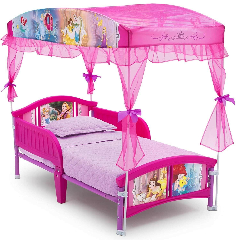 Delta Children Canopy Toddler Bed,  Disney Princess, 20.72 p