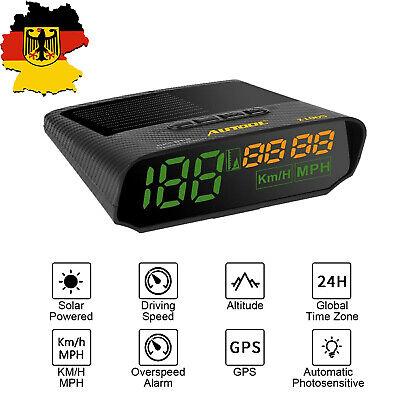 AUTOOL X100S Smart GPS KMH/MPH Speedometer 5V/12V OBDII Car Tachometer online kaufen