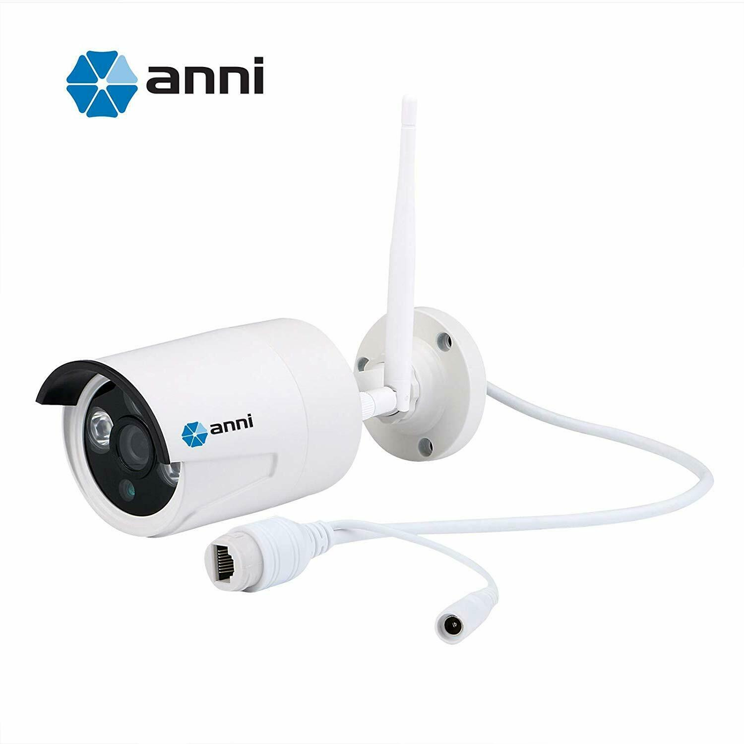 Anni Wireless Security IP Camera 1.0MP 720P Weatherproof Wir