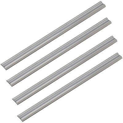 4x Metal Duro Cuchilla de Cepillo Para Carpintero Eléctrico 102x 5,5x 1,1