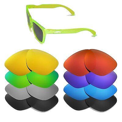 Walleva Ersatzgläser für Oakley Frogskins Sonnenbrillen - Viele Optionen