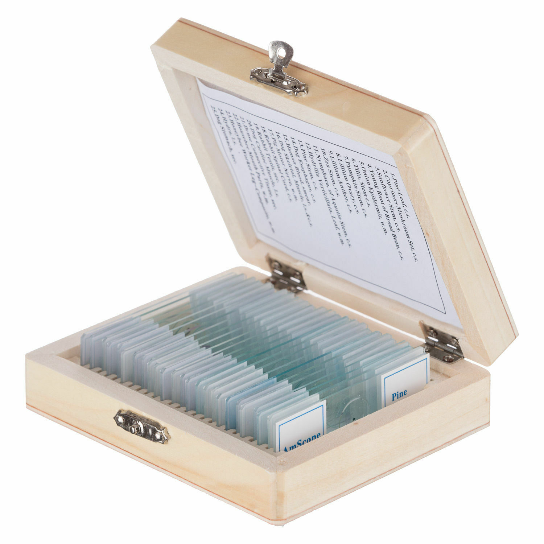 50 Stück Mikroskop Objektträger Deckgläser Für Biologie Experiment