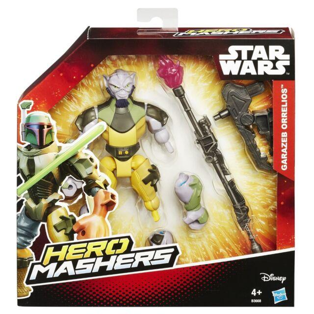 Star Wars Hero Mashers Rebels Garazeb Orrelios *BRAND NEW*