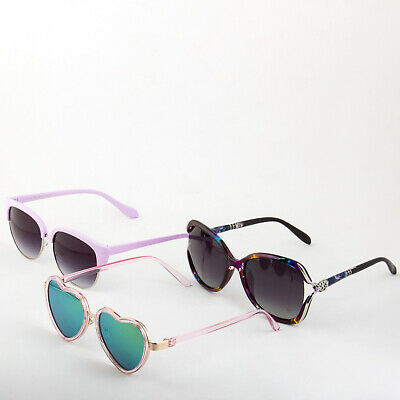 Cute Womens Fun Luxurious Affordable Sunglasses 3 Pack Bulk Discount -Save (Affordable Sunglasses)