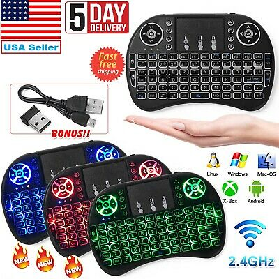 Mini Wireless Remote Keyboard Mouse for Samsung,LG Smart TV,Android,Tablet,PC (Wireless Keyboard And Mouse For Samsung Tv)