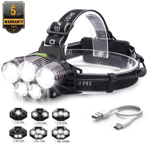 Silverline COB-LED-Stirnlampe Kopflampe Helmlampe