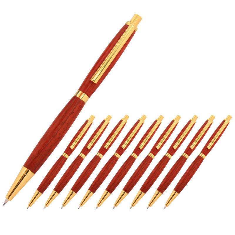 Slimline Pencil Kit, Gold Finish, 10 Pack, Legacy Woodturning