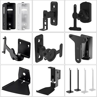 Tilt Swivel Wall Mount Floor Stand For SONOS PLAY 1 3 5 Speaker Durable Steel Tilt-swivel Stand