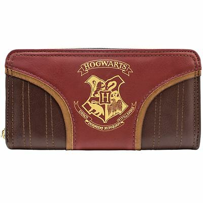 Official Harry Potter Hogwarts Quidditch Red Coin & Card Clutch Purse *SECOND*