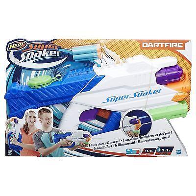 Nerf Super Soaker Dartfire Dart/Water Blaster With 5 Darts