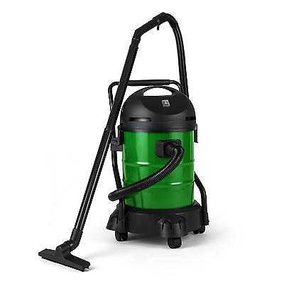 GARDEN POND VACUUM CLEANER SILT REMOVER CLEANING PORTABLE 1200W 30 L TANK FISH
