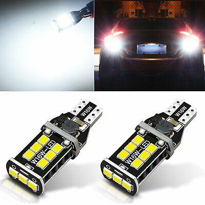 JDM ASTAR 800LM 921 912 Error Free White PX SMD LED Backup Reverse Light Bulb