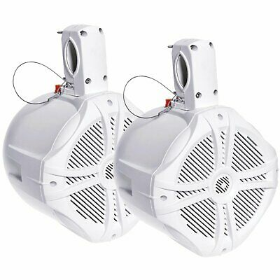 Power Acoustik MWT-65W Marine White 6.5