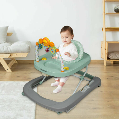 Baby Walker Chair Toddler Activity Boys Girls Walk Learning Rolling Assistant