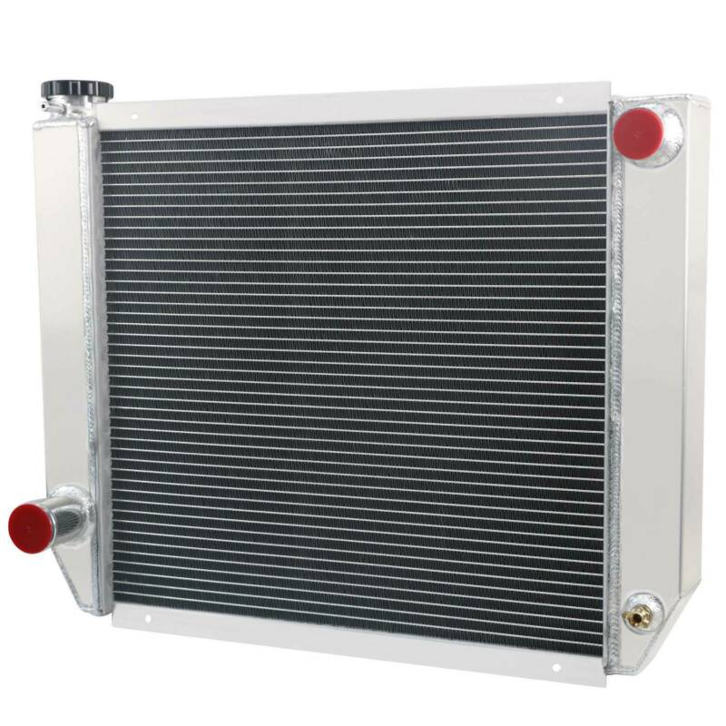 "3 Core Custom Aluminum Radiator 19/"" x 24/"" Fit Ford//Chrysler-Style Heavy duty MT"